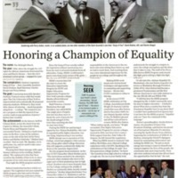 Honoring a Champion of Equality