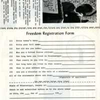 Freedom Registration Form